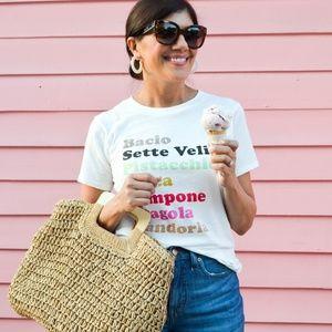 J Crew Gelato T Shirt